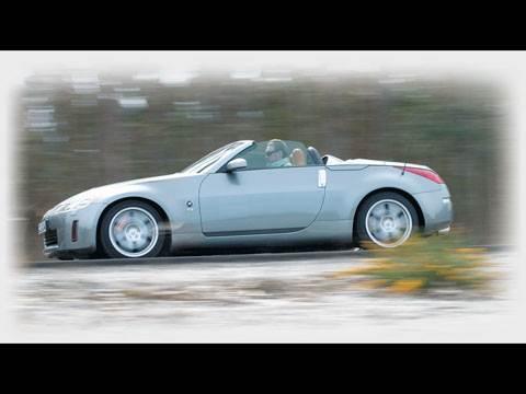 Настоящий спорткар! (350Z Roadster)