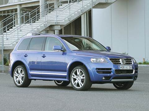 """Volkswagen"" индивидуального пошива (Touareg W12 Sport)"