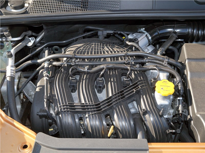 Lada Xray Cross 2019 двигатель