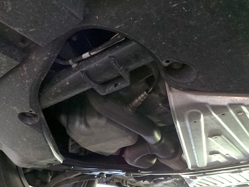 Acura MDX 2014 защита двигателя