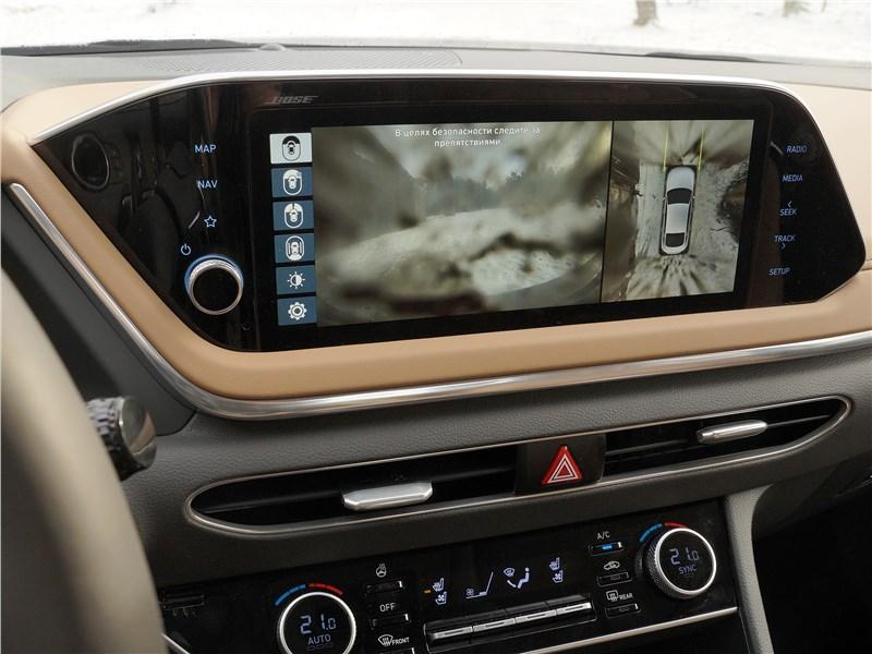 Hyundai Sonata 2020 центральная консоль