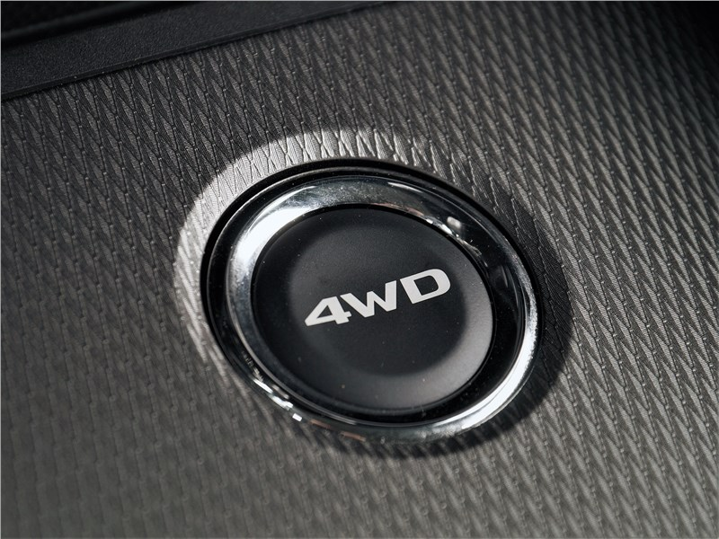 Mitsubishi ASX 2020 выбор режимов