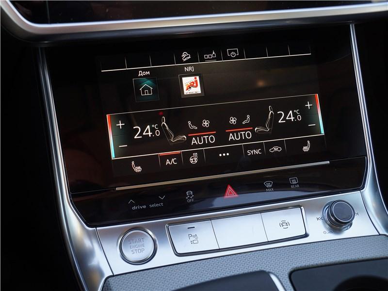 Audi A6 allroad quattro (2020) нижний экран