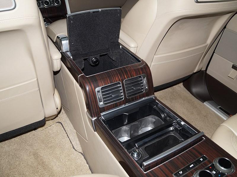Range Rover LWB 2014 центральный туннель