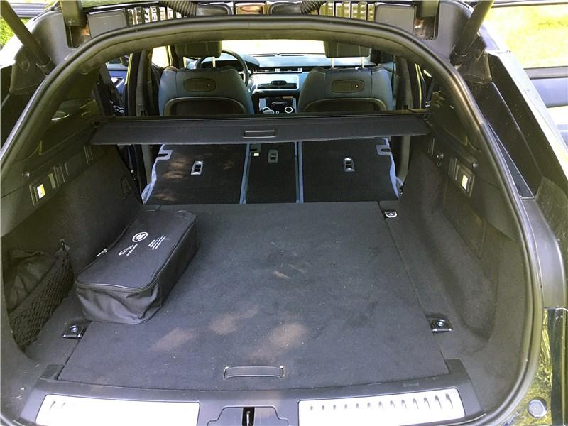 Land Rover Range Rover Velar (2021) багажное отделение