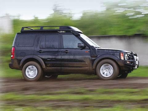 """""""Land Rover"""" повышенной проходимости (Discovery 3)"""