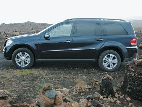 Mercedes-Benz GL- класса (GL450; GL500)
