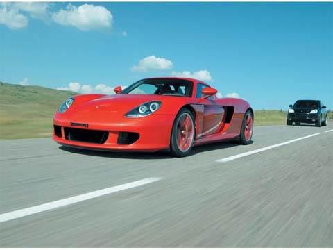 Оранжевое безумие (Carrera GT)