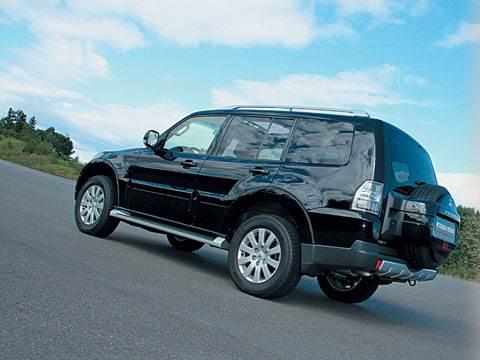 """Внедорожная легенда """"Mitsubishi"""" (Pajero V6, 3,8 л ; 3,2 л, турбодизель)"""