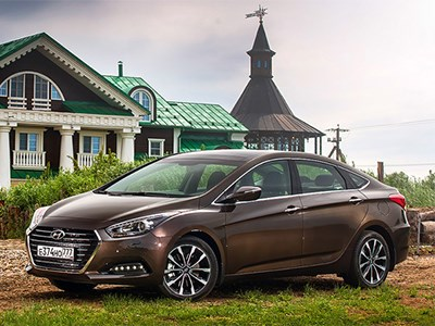 Обновленный Hyundai i40 показали в Москве