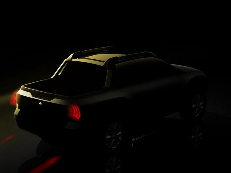 Renault Sport Utility Pickup concept 2015 вид сзади