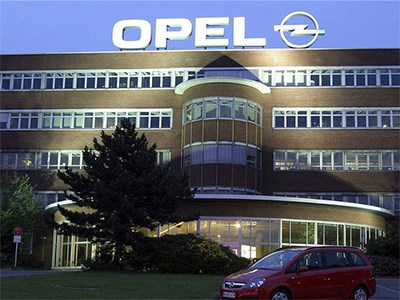Немецкие заводы Opel снижают объем производства новых автомобилей