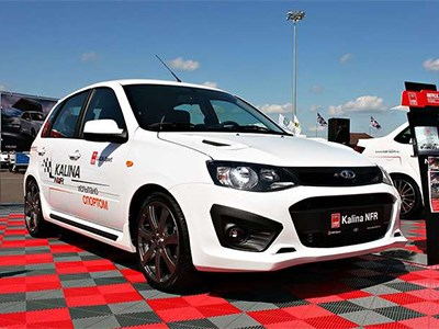 «Горячая» Lada Kalina Need for Race появится на рынке не раньше сентября