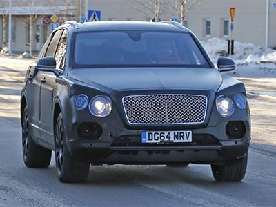 Премьера первого серийного внедорожника Bentley состоится во Франкфурте