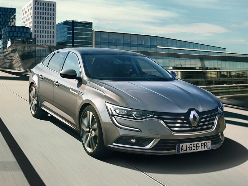Renault Talisman 2016 вид спереди