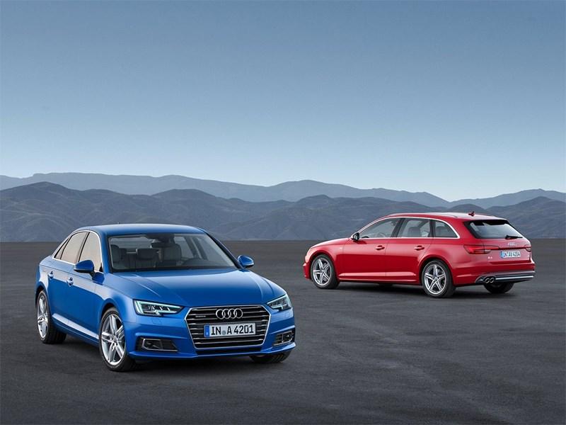 Audi A4 и Audi A4 Avant 2016