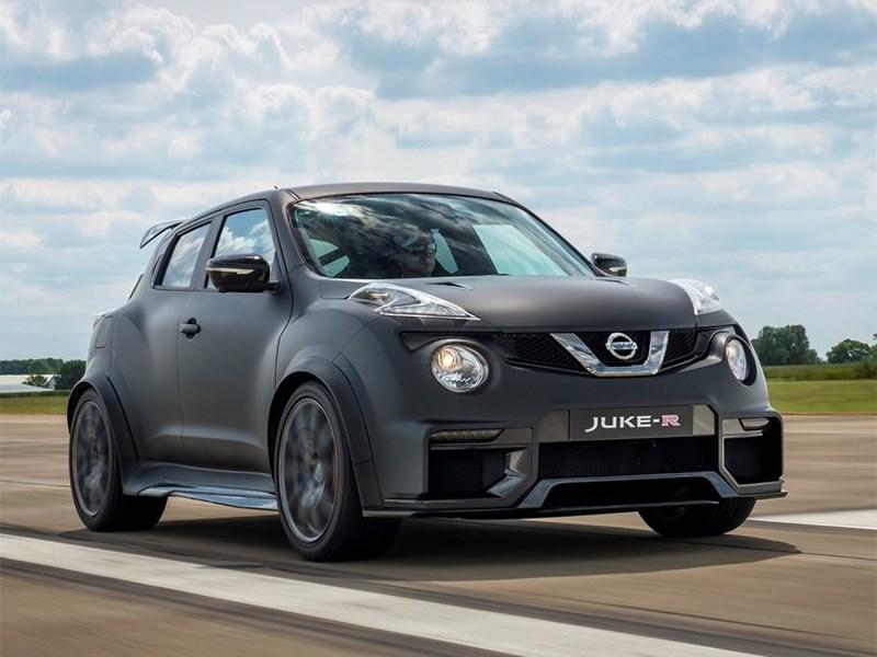 Nissan Juke-R Concept 2015 вид спереди