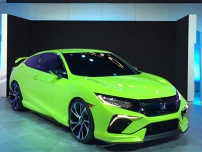 В США покажут новый Honda Civic