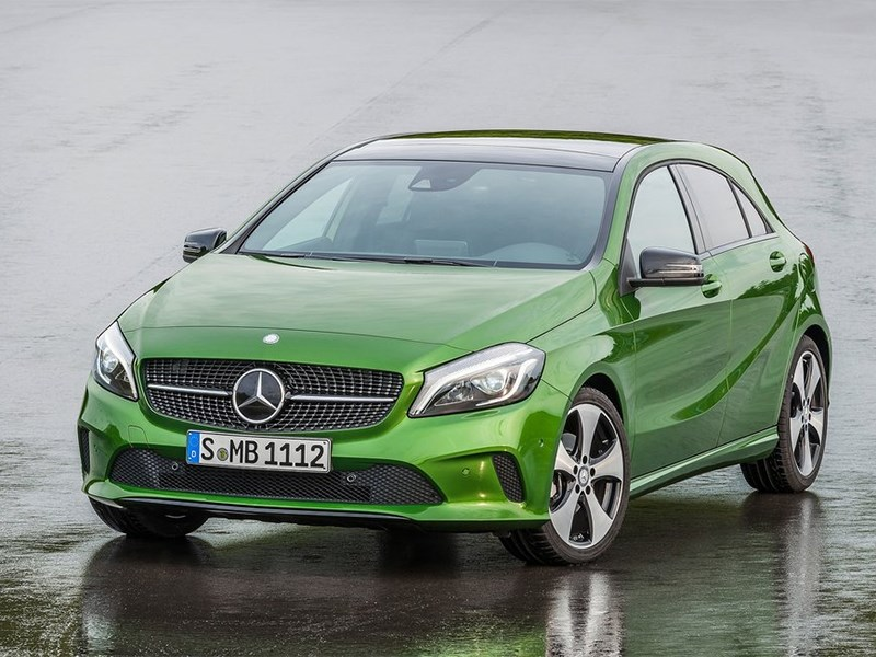 Элитные малолитражки (Mercedes-Benz A-klasse, Mini One, Opel Corsa OPC, Renault Clio Sport) A-Class
