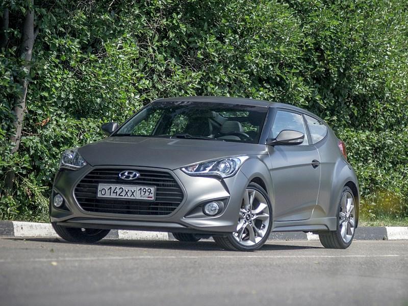 Hyundai Veloster 2016 вид спереди