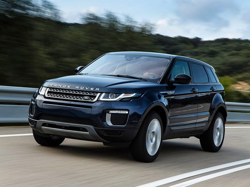 Land Rover Range Rover Evoque 2016 вид спереди сбоку