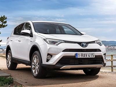 Toyota выпустит на европейский рынок гибридную версию RAV4