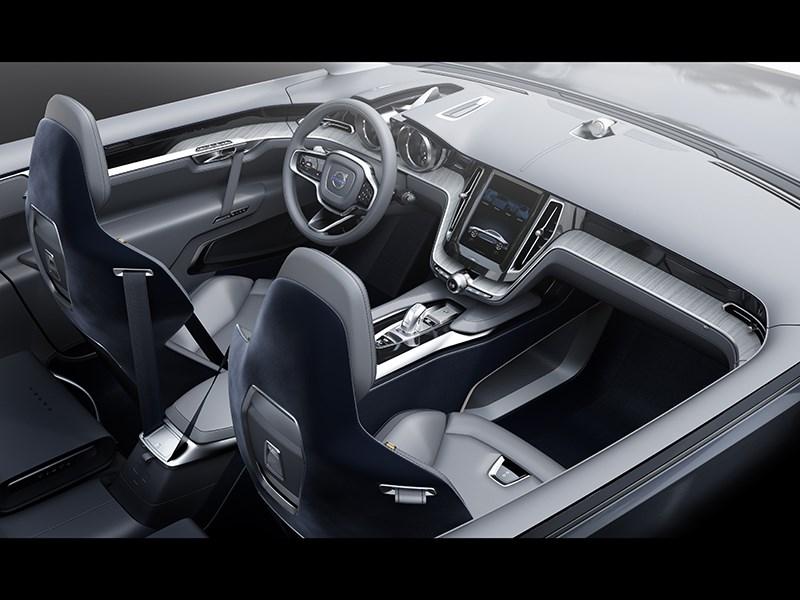 Volvo Coupe концепт 2013 интерьер фото 3