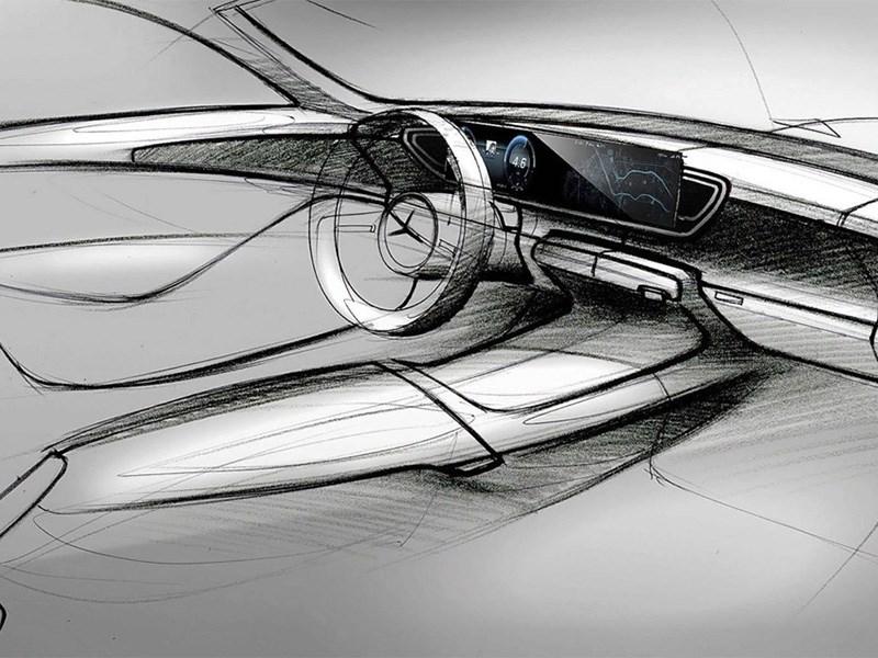 Рассекречен интерьер нового Mercedes-Benz GLE