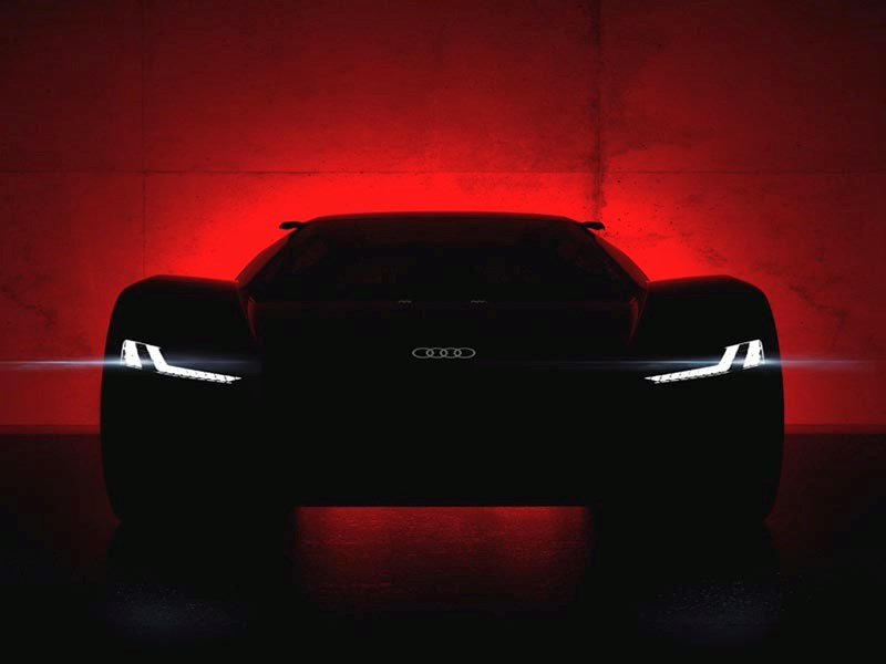 Audi в августе покажет электрический суперкар Фото Авто Коломна
