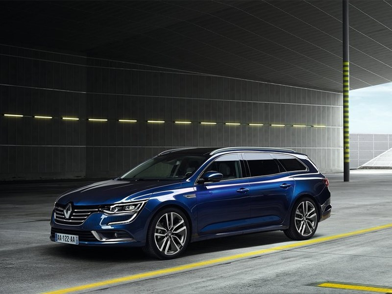 Renault Talisman Estate 2016 вид спереди