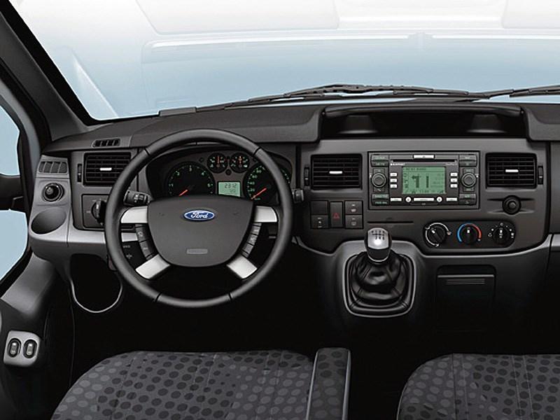 Ford Tranzit 2006 приборы и органы управления