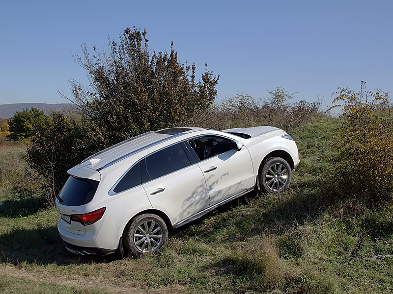 Acura MDX 2014 вид сбоку
