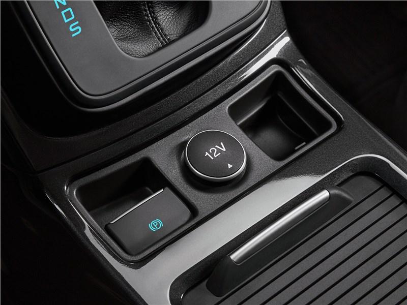 Ford Kuga 2017 электронный «ручник»