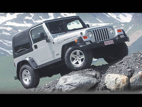 Land Rover Defender 90, Jeep Wrangler, Land Rover Freelander, Mitsubishi Pajero, Toyota RAV4, Suzuki Jimny, Suzuki Grand Vitara