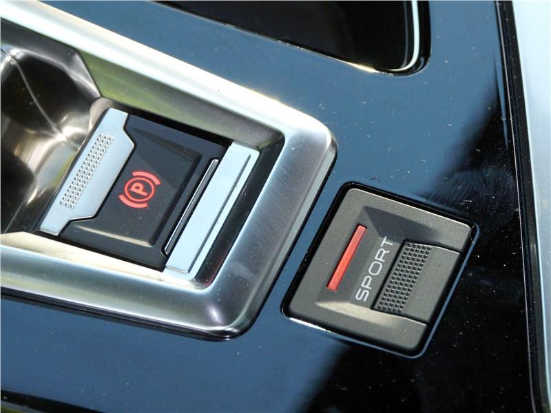 Peugeot 3008 2017 кнопка SPORT