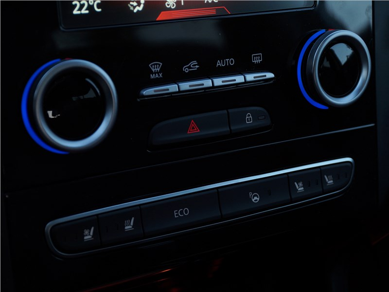Renault Koleos 2017 центральная консоль