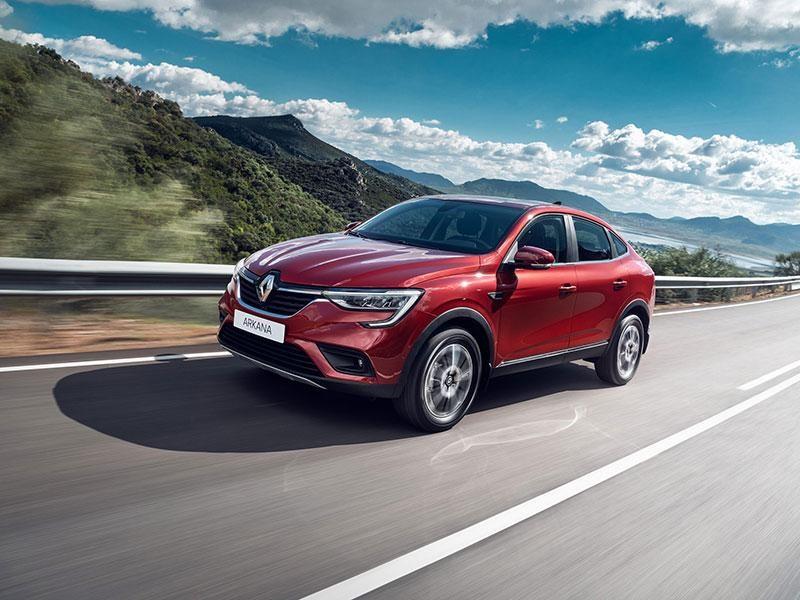 Renault Arkana появилась в Европе
