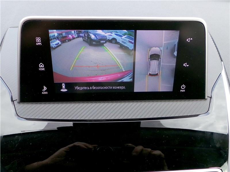 Mitsubishi Eclipse Cross 2018 центральный монитор
