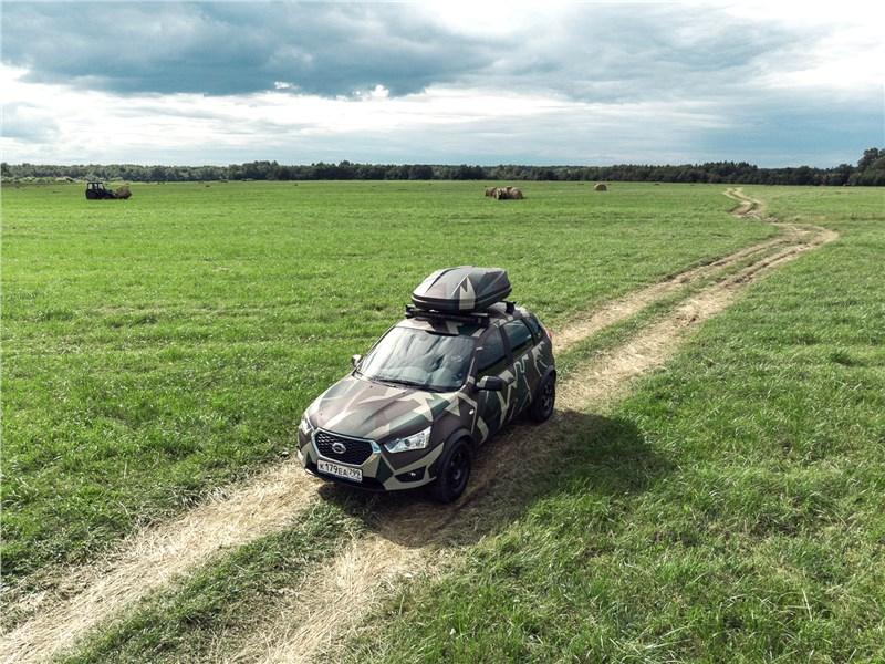 Datsun mi-Do 2018 вид спереди