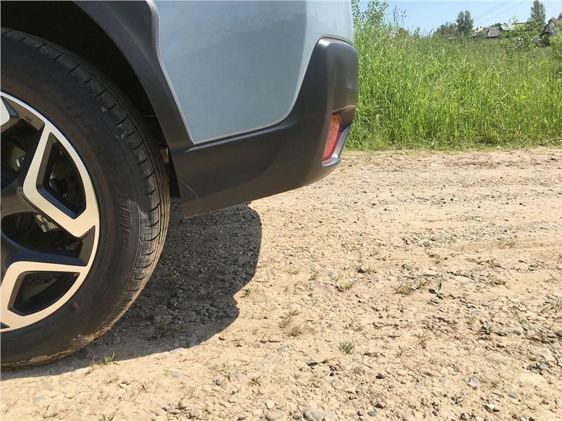 Subaru XV 2018 задний свес