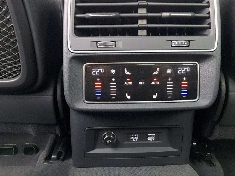 Audi Q7 (2020) разъемы