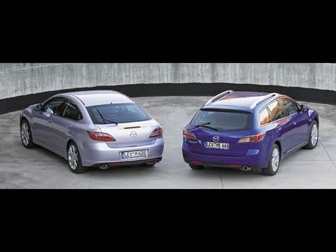 """Практичность и элегантность (Mazda 6 """"универсал"""" и """"хэтчбек"""")"""