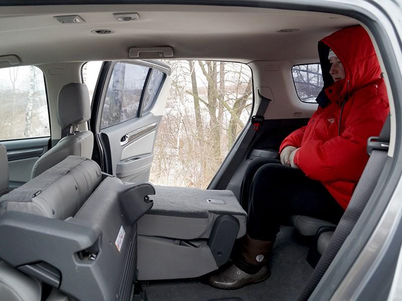 Chevrolet Trailblazer 2012 кресла третьего ряда