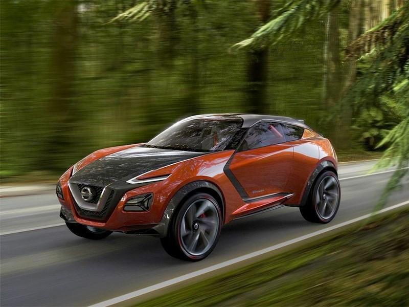 Nissan Gripz Concept 2015 вид спереди сбоку