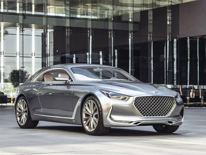 Hyundai Vision G 2015 вид спереди