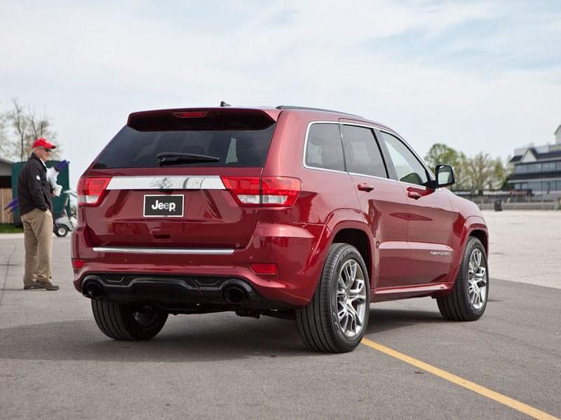 Jeep отправляет наремонт в Российской Федерации модель Grand Cherokee