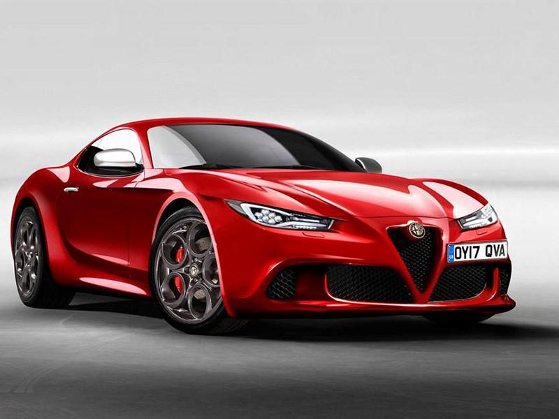 У Alfa Romeo будет новый спорткар