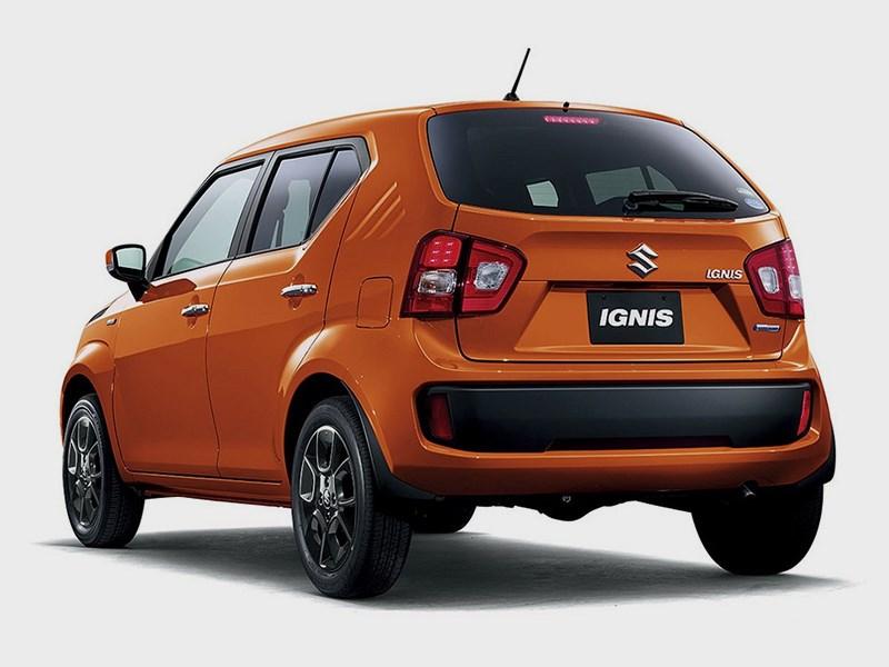 Suzuki Ignis 2016 вид сзади