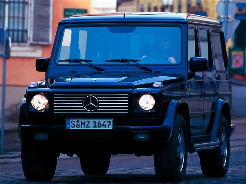 Аристократы бездорожья (Range Rover, Lexus LХ470, Mercedes-Benz G-Klasse) G-Class поколение 463