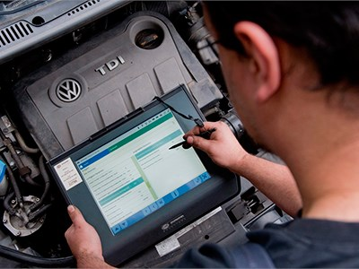Volkswagen начал сервисную кампанию во Франции